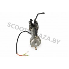 """Карбюратор мотоблока 177F/188F (9/13Hp) (с газовым редуктором и электромагнитным клапаном) """"LIBA"""""""