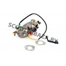 """Карбюратор мотоблока 177F/188F (9/13Hp) (с газовым редуктором и электромагнитным клапаном) """"MANLE"""""""